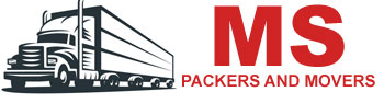 MS Packers and Movers logo